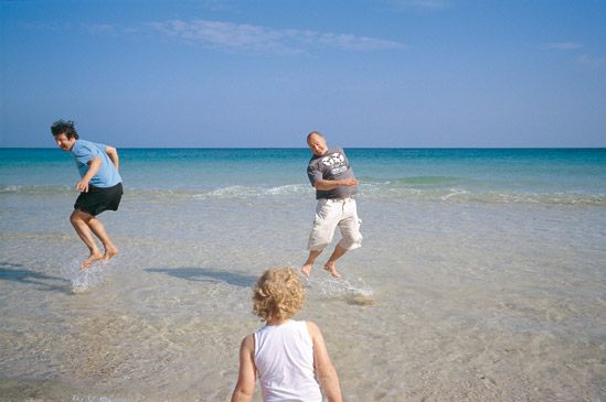 Porthcurno sea jump
